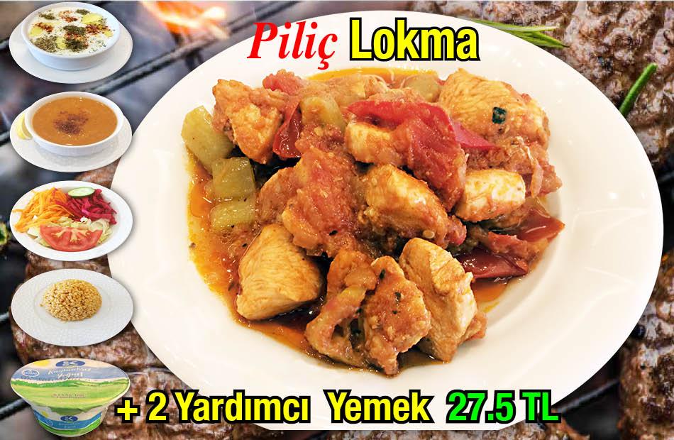 Alazade Piliç Lokma Menü
