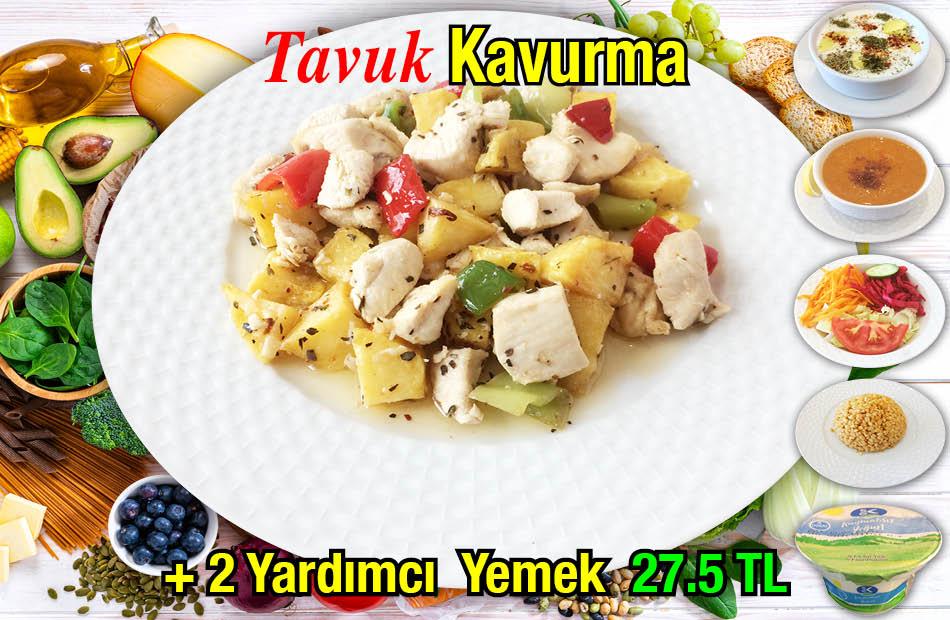 Alazade Tavuk Kavurma Menü