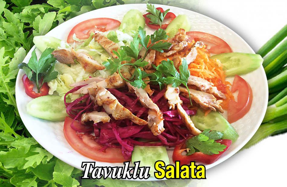 Alazade Tavuklu Salata